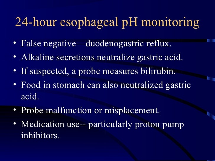 pH monitoring of the esophagus - SlideShare