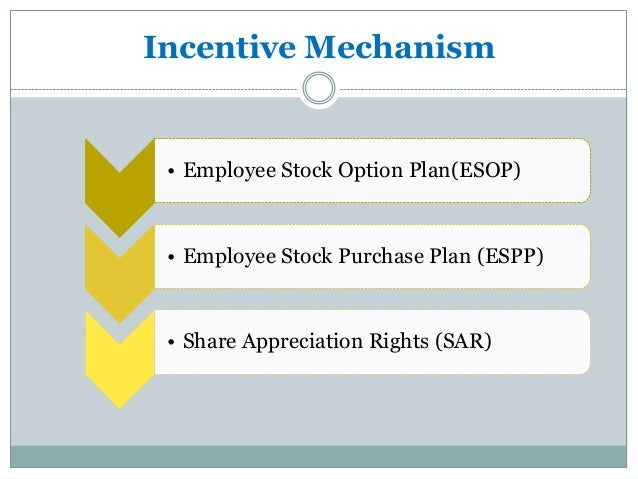 Incentive stock options buyout
