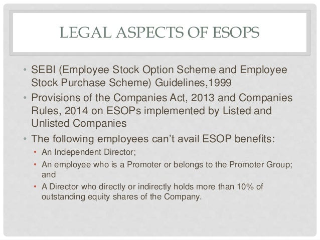 Outstanding employee stock options