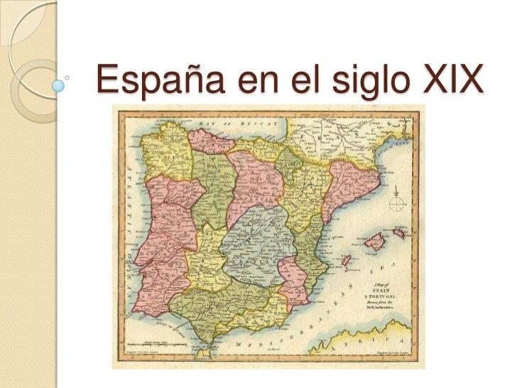 España en el siglo xix Pablo Miguel Martínez