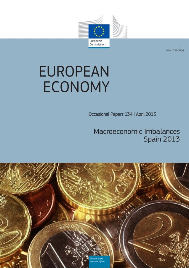EUROPEANECONOMYOccasional Papers 134   April 2013Macroeconomic ImbalancesSpain 2013Economic andFinancial AffairsISSN 1725-3...