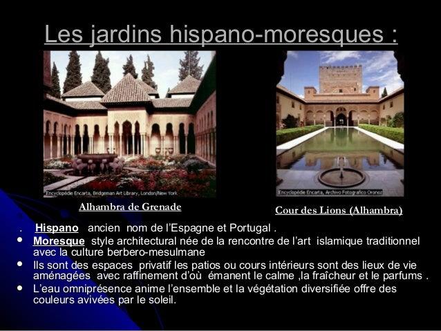 Espaces verts 02 for Jardin hispano mauresque