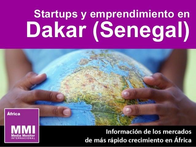 Startups y emprendimiento en Dakar (Senegal)