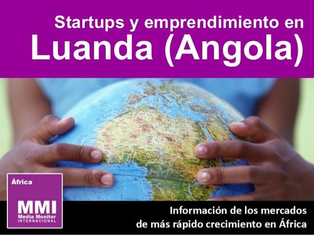 Startups y emprendimiento en Luanda (Angola)