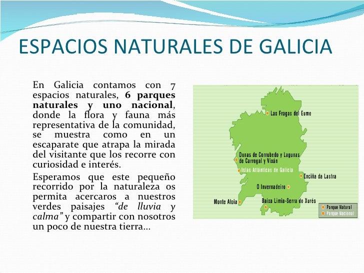Espacios naturales de galicia - Donde alojarse en galicia ...