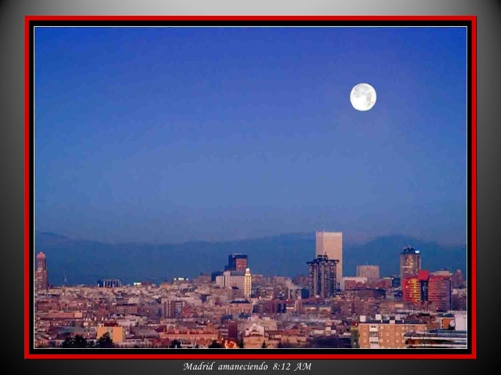 Espana El Color De Madrid