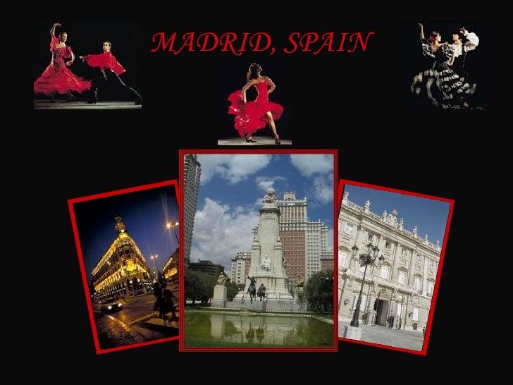 Espana Madrid (Ingles)