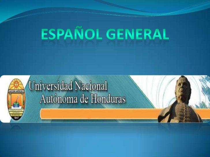 Español 2012