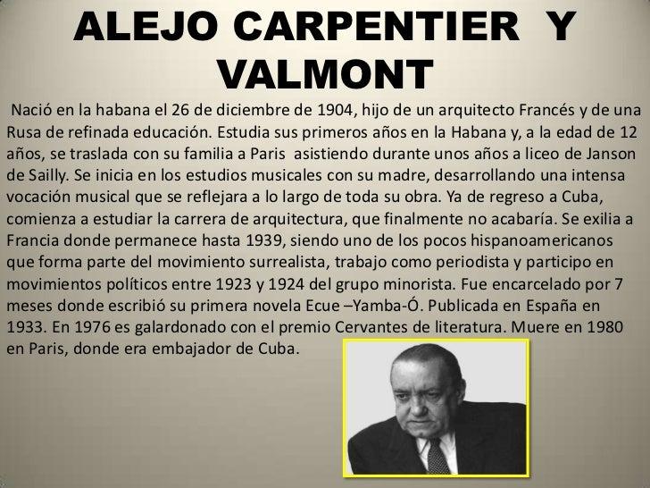 Alejo carpentier biografia corta yahoo dating 5