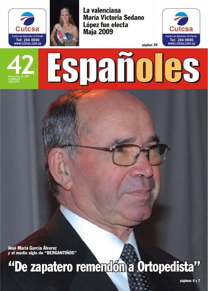 Montevideo, noviembre de 2009 1