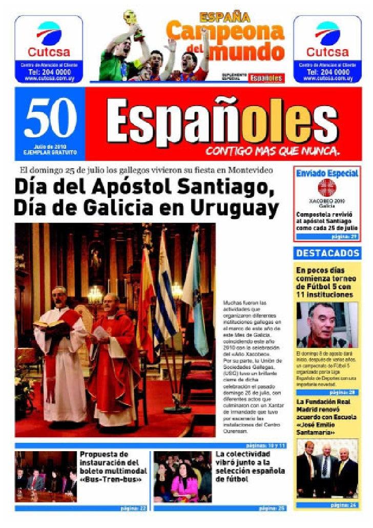 Revista Españoles Nº50 Julio 2010