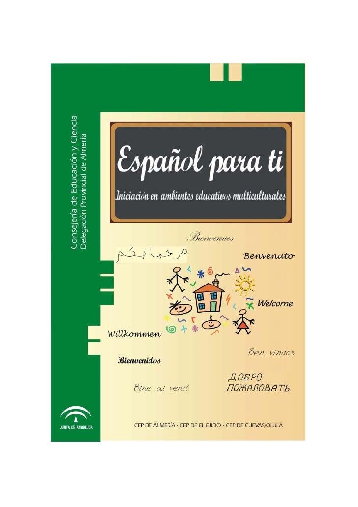 Español para tí. almeria