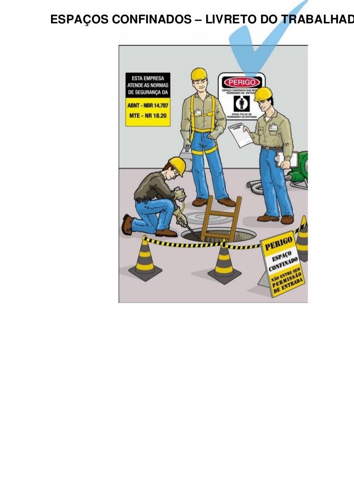 Espacos Confinados - Livreto do Trabalhador