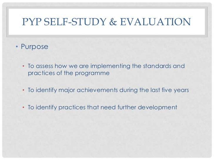 an analysis of the consistent results of the self assessment Self-assessment questionnaire  by completing this questionnaire your results will allow you to self-assess  produce consistent, valid and comparable results.