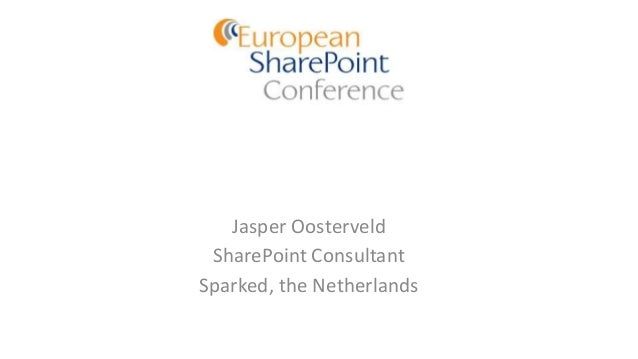 European SharePoint Conference 2014 - External Collaboration with SharePoint Online and Yammer