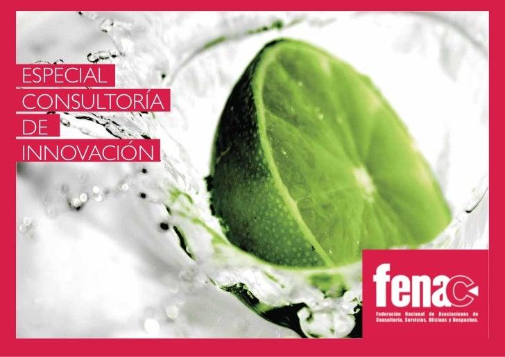Especial consultoria de_innovacion_fenac_-_septiembre_2012