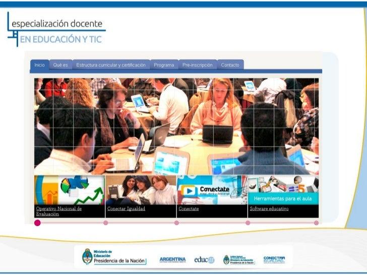 Especialización TIC