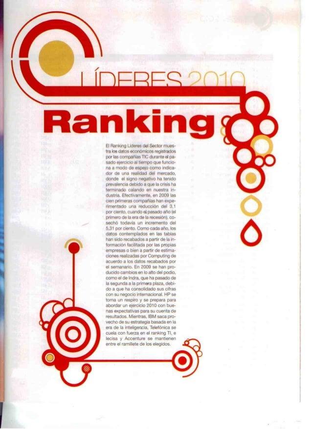 Especial líderes 2010 [computing]