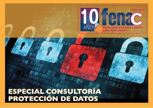 10  2003-2013  2013 UNIO  AÑOS J  ESPECIAL CONSULTORÍA PROTECCIÓN DE DATOS