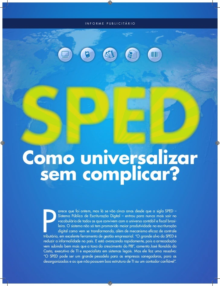 Especial SPED - Revista Exame