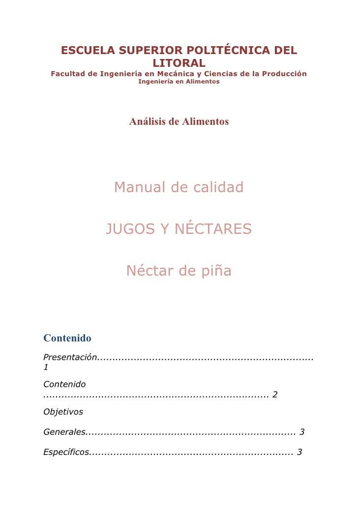 ESCUELA SUPERIOR POLITÉCNICA DEL                  LITORAL   Facultad de Ingeniería en Mecánica y Ciencias de la Producción...
