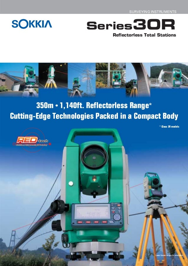 SURVEYING INSTRUMENTS                      Series30R                              Reflectorless Total Stations        350m...