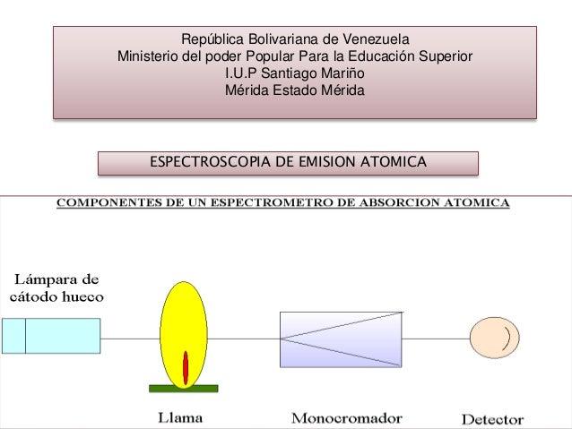 República Bolivariana de Venezuela Ministerio del poder Popular Para la Educación Superior I.U.P Santiago Mariño Mérida Es...