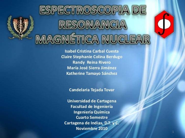 Espectroscopia de RMN