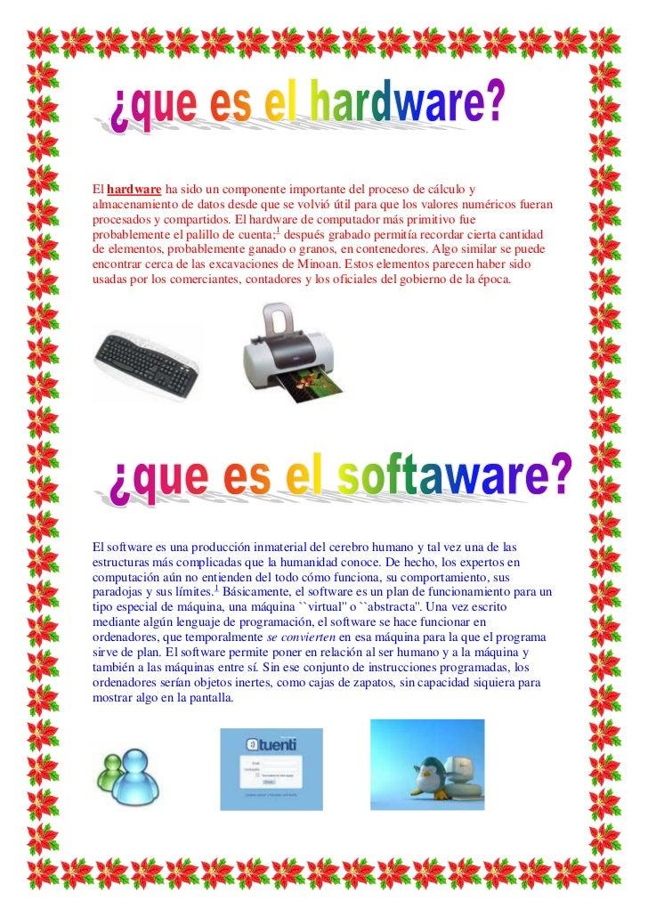 El hardware ha sido un componente importante del proceso de cálculo yalmacenamiento de datos desde que se volvió útil para...