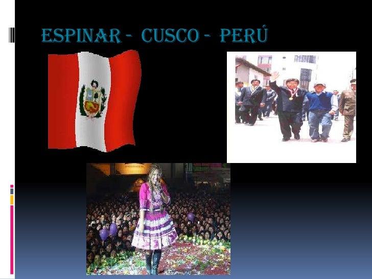 ESPINAR - CUSCO - PERÚ