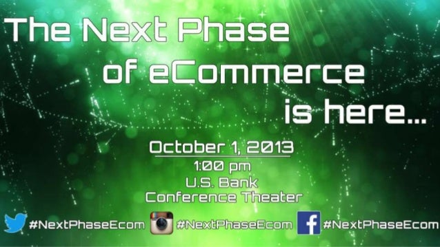 The Next Phase of eCommerce Unveiled