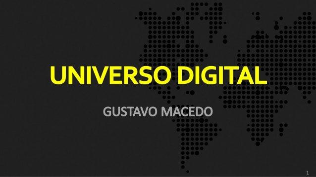 Palestra ESPM - Universo Digital - Outubro 2013
