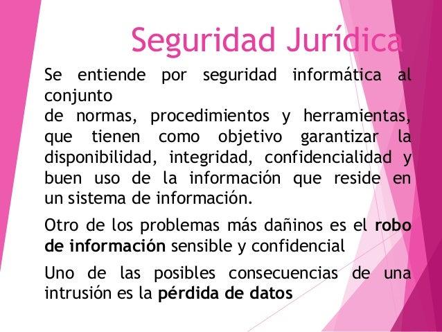 SEGURIDAD JURIDICA UAP