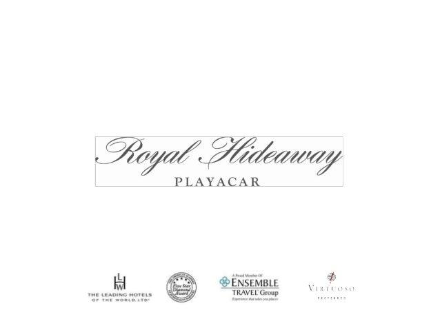 Occidental Royal Hideaway Presentation