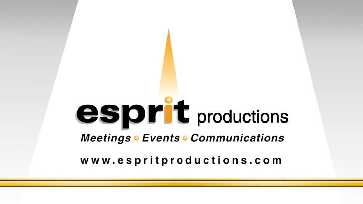 Esprit productions   2011 Year in Review