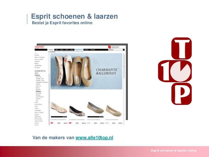 Esprit schoenen laarzen