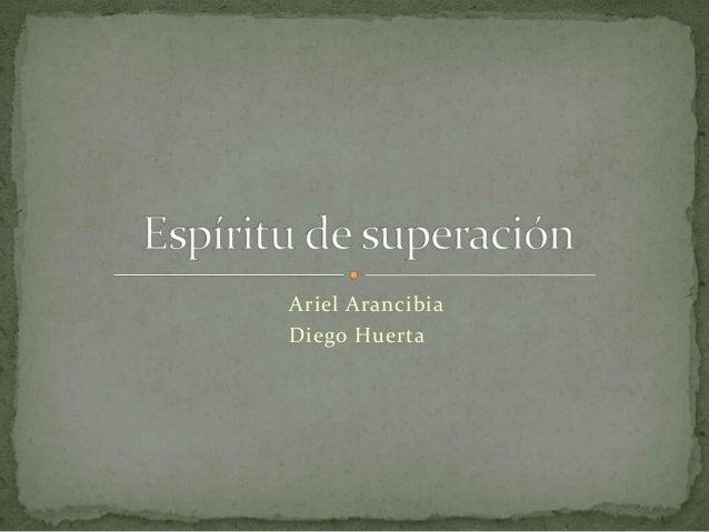 Ariel Arancibia Diego Huerta