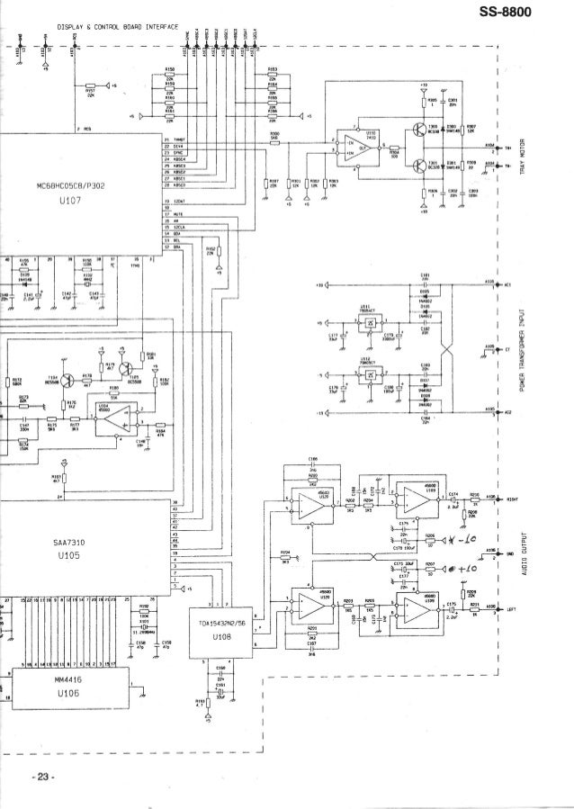 "DISPLAY E CONTROL BOARD INTERFACE                            _se _g2 '""s~___ #43 ""' _ ' .  - .  os n53 Í 22K .5 msn 335 . ..."