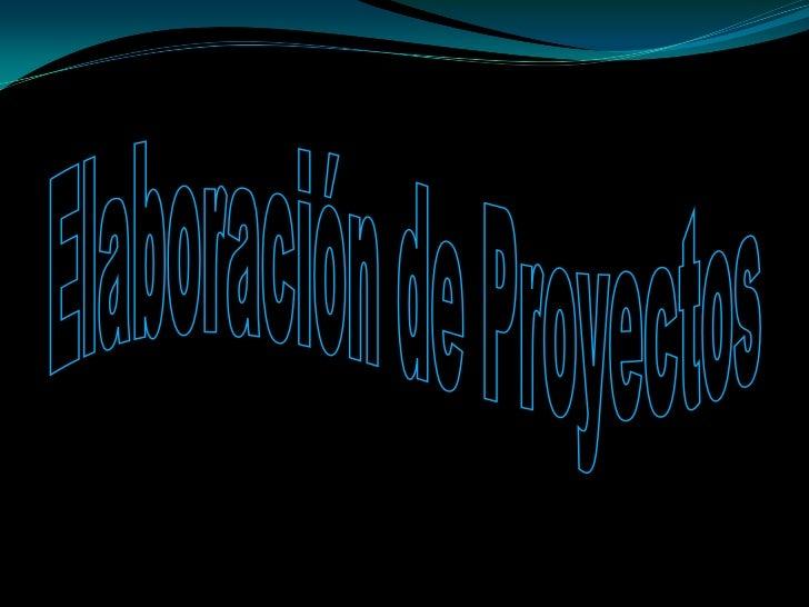 Esquema Para Proyectos