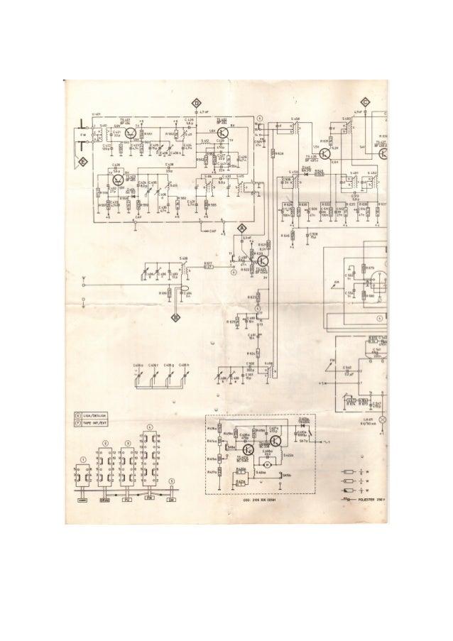 Schema Elettrico Forno Microonde : Esquema philips ah completo