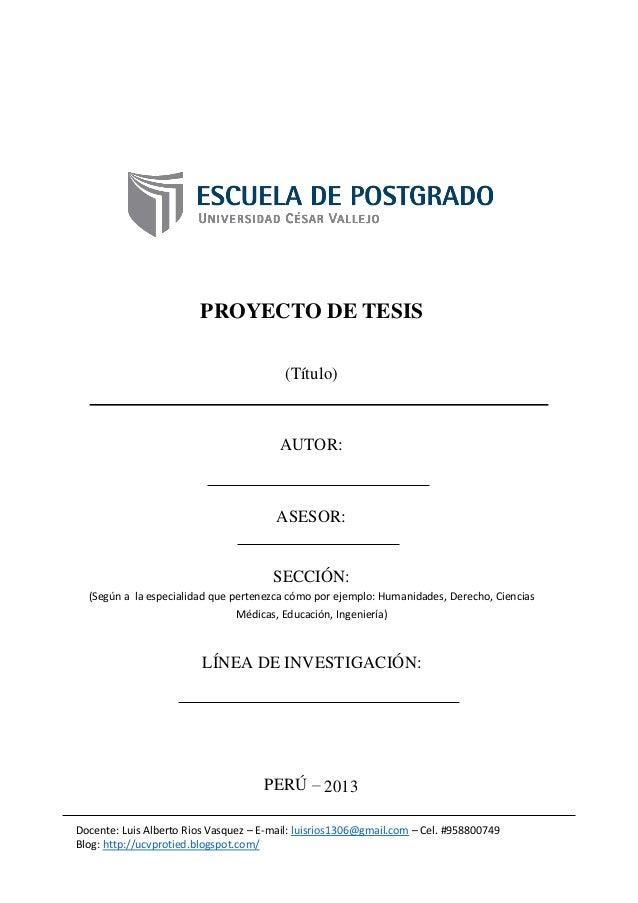 Esquema proyecto tesis_II_Semestre