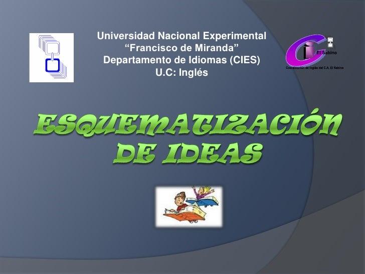 C<br />i<br />i<br />El Sabino<br />Coordinación de Inglés del C.A. El Sabino<br />Universidad Nacional Experimental<br />...