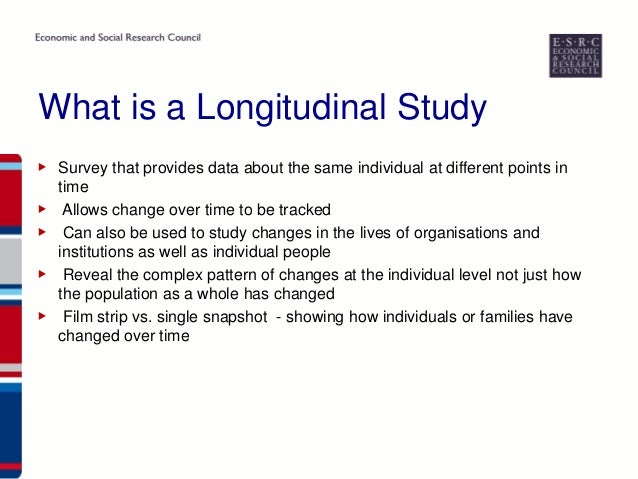 disadvantages of a longitudinal case study A crossover study is a longitudinal study in which subjects receive a limitations and disadvantages these studies are often done to improve the symptoms.