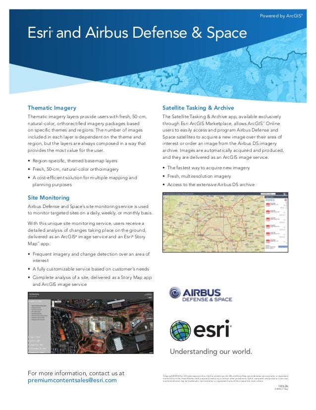 Esri and Airbus Defense & Space
