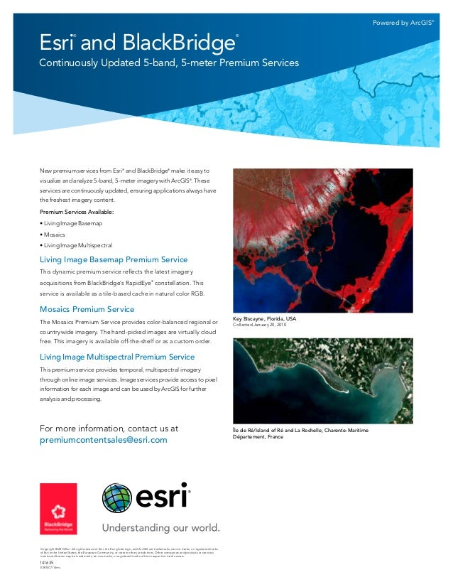 Esri and BlackBridge