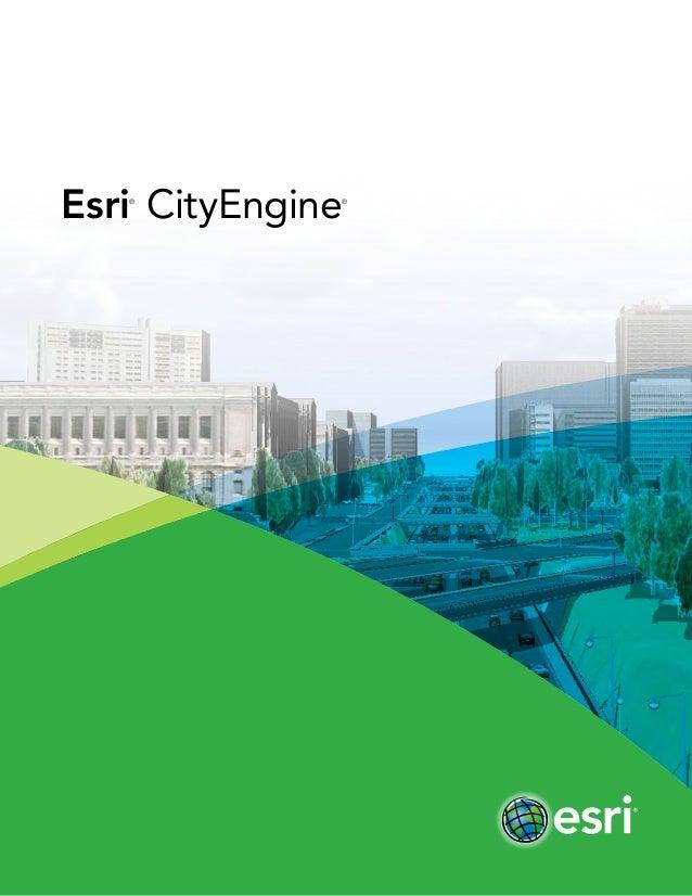 Esri® CityEngine®
