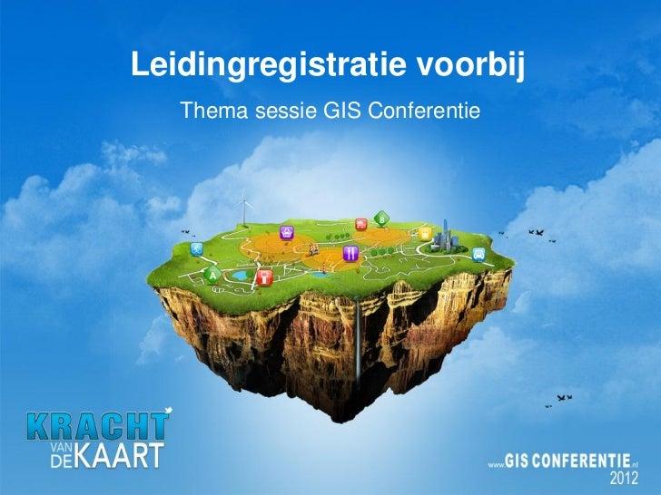 Intro leidingregistratie voorbij, Esri Nederland