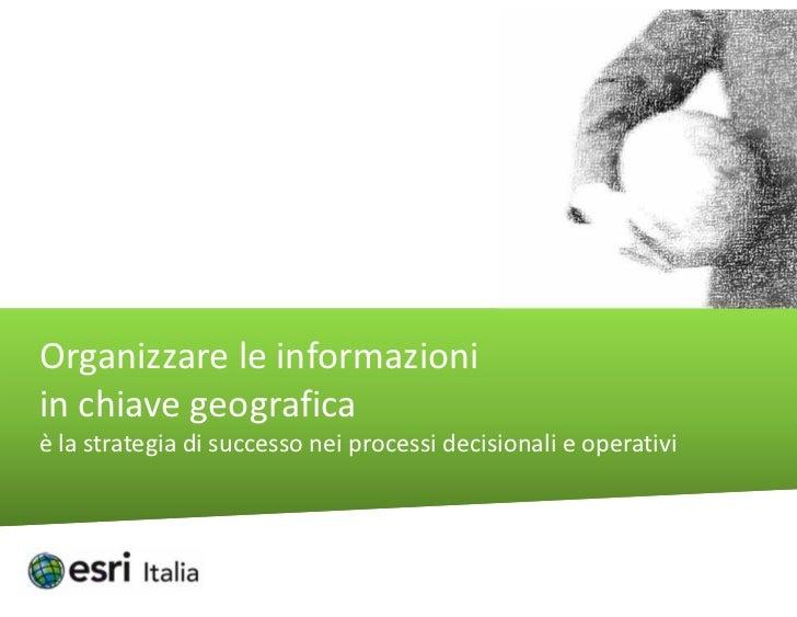 Esri Italia 2012