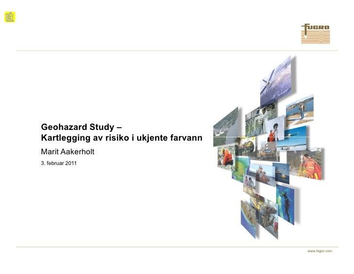 Geohazard Study