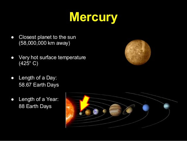 surface conditions of mercury the planet closest to the sun